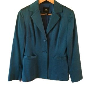 Doncaster Teal Women's Fitted Blazer